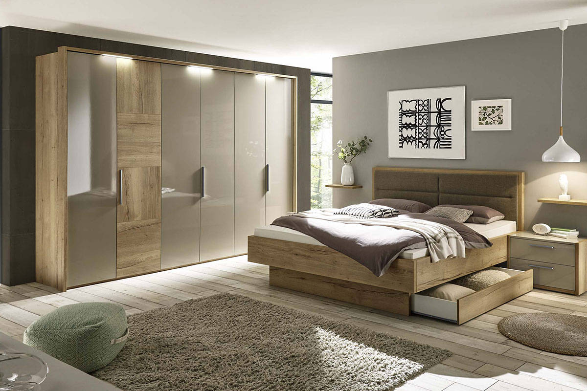 Loddenkemper_bedrooms_dakota_oak-silea-finish-high-gloss-sahara-8672-07-AM-(2)