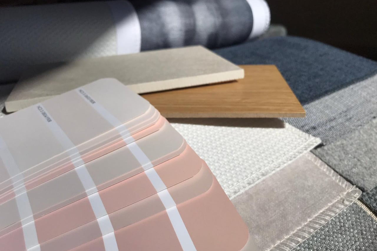 interior design fabrics materials surfaces